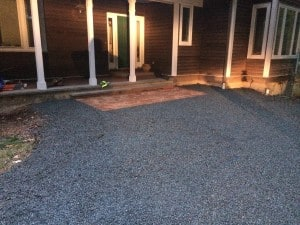 Hilltop Landscaping - Stone Walk and driveway 2