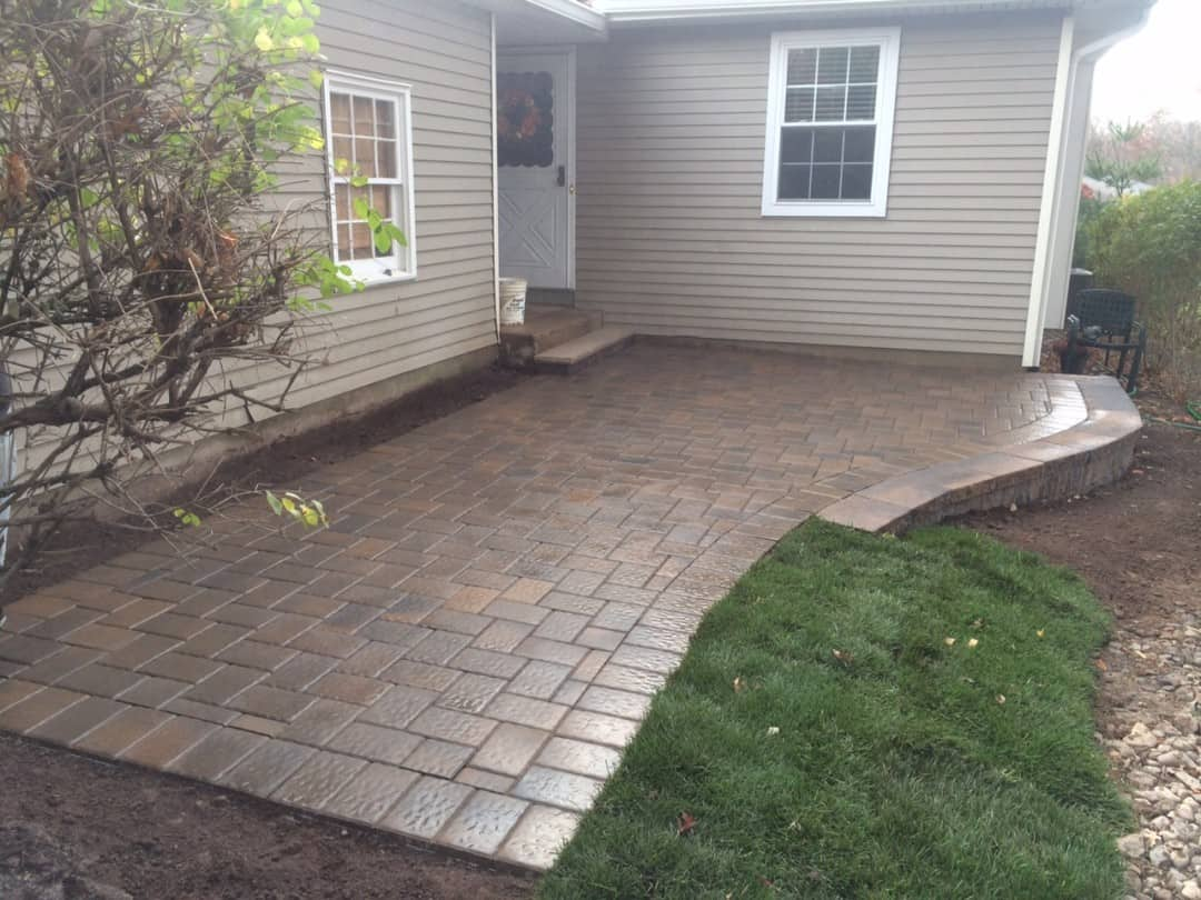 New Walk and Patio