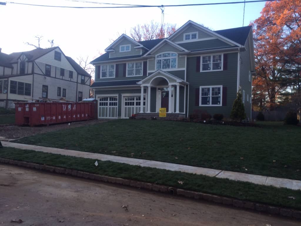 New Residential Construction Landscaping and Yard Installation